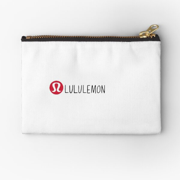 lululemon hand drawn logo Zipper Pouch