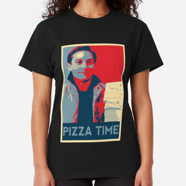 Pizza Time Poster Classic T-Shirt