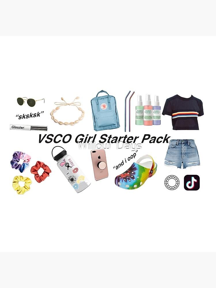 vsco girl starter pack, vsco girl packs by avit1
