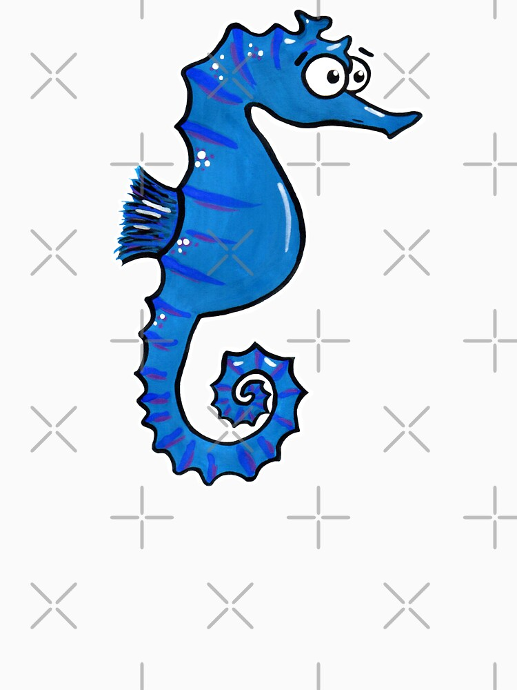 Seymour the Seahorse by AdrienneBody