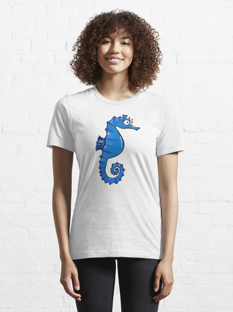 Alternate view of Seymour the Seahorse Essential T-Shirt