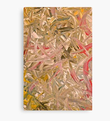 Abstract painting by Scott Johnson Canvas Print