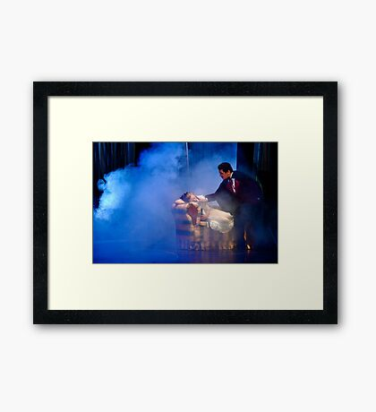 Clara in a Dream Framed Print