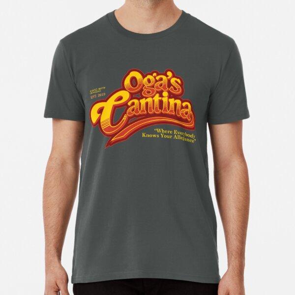 Oga's Cantina (Cheers Style) Premium T-Shirt