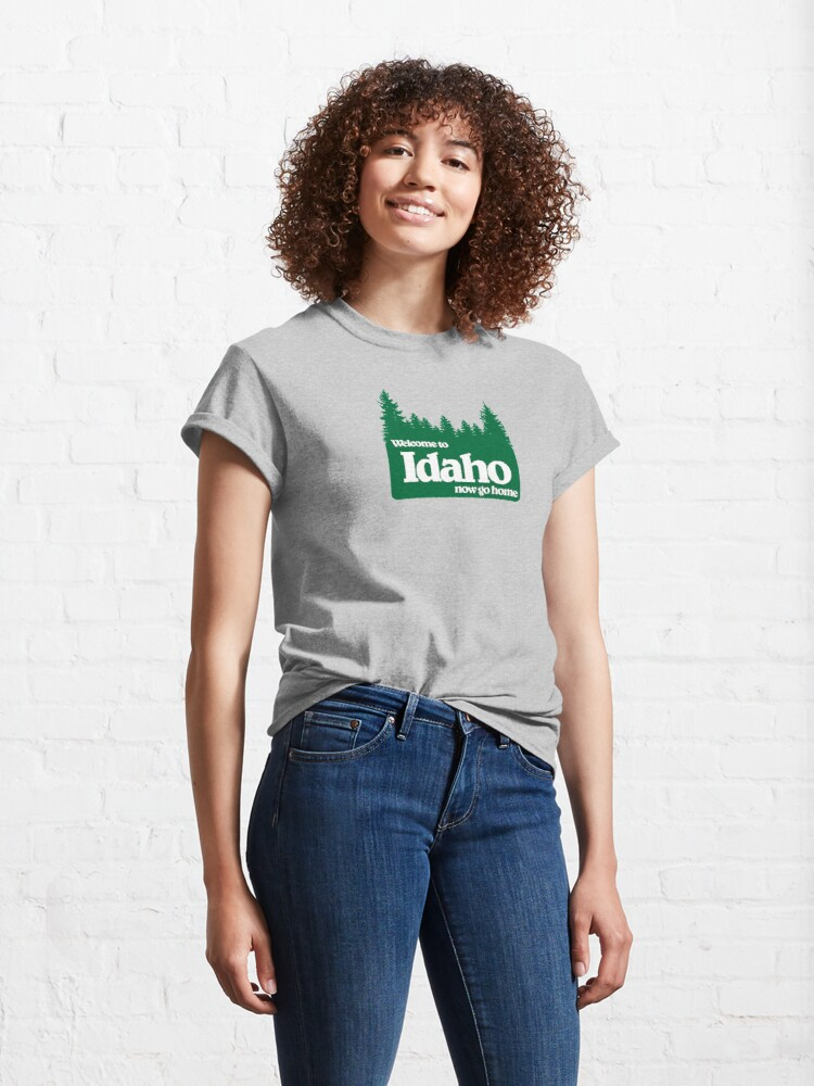 Alternate view of Welcome to Idaho-Pines Classic T-Shirt