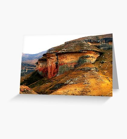 Mushroom Rock Greeting Card