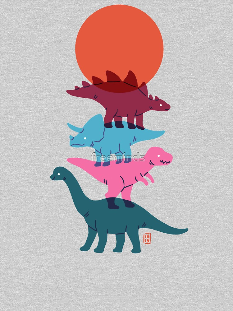 Colourful dinosaurs 2 by freeminds