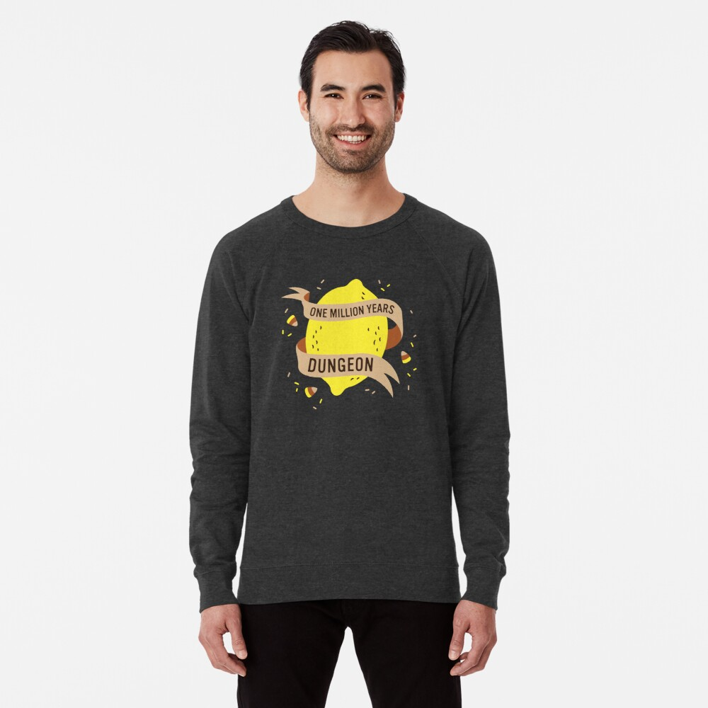 One Million Years Dungeon Lightweight Sweatshirt
