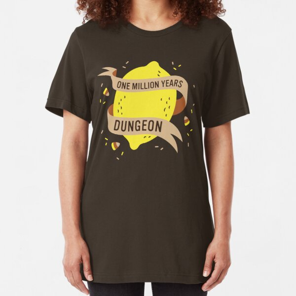 One Million Years Dungeon Slim Fit T-Shirt