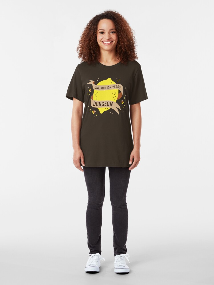 Alternate view of One Million Years Dungeon Slim Fit T-Shirt