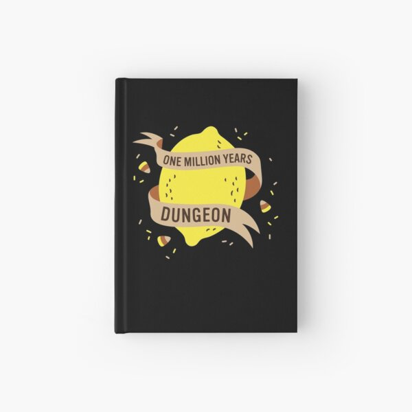 One Million Years Dungeon Hardcover Journal