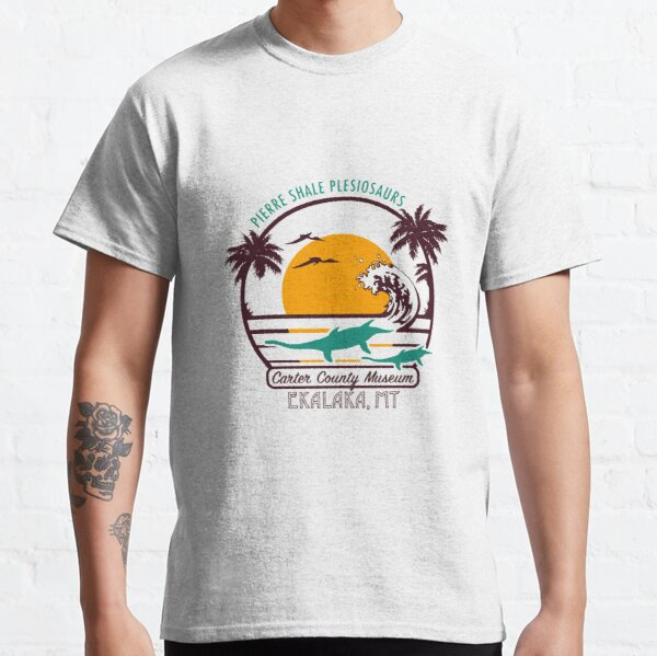 Plesiosaur Beach Classic T-Shirt