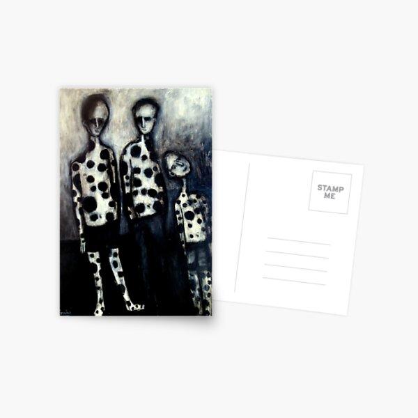 3 spotted boys Postcard