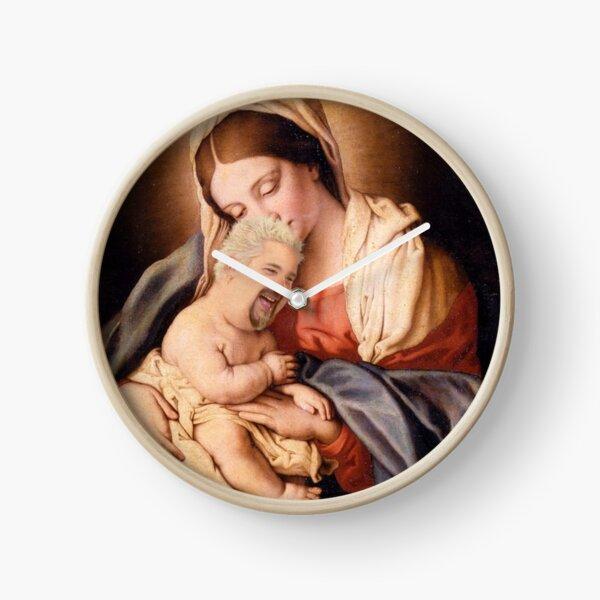 Guy Fieri Baby Jesus Clock