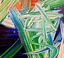 Abstract Painting by Scott Johnson ... by Scott Johnson