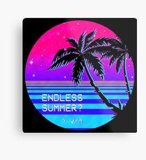 Endless Summer (Vaporwave) Metal Print