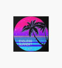 Endless Summer (Vaporwave) Art Board Print