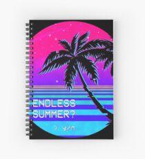 Endless Summer (Vaporwave) Spiral Notebook