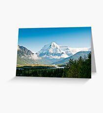 Mt Robson Greeting Card