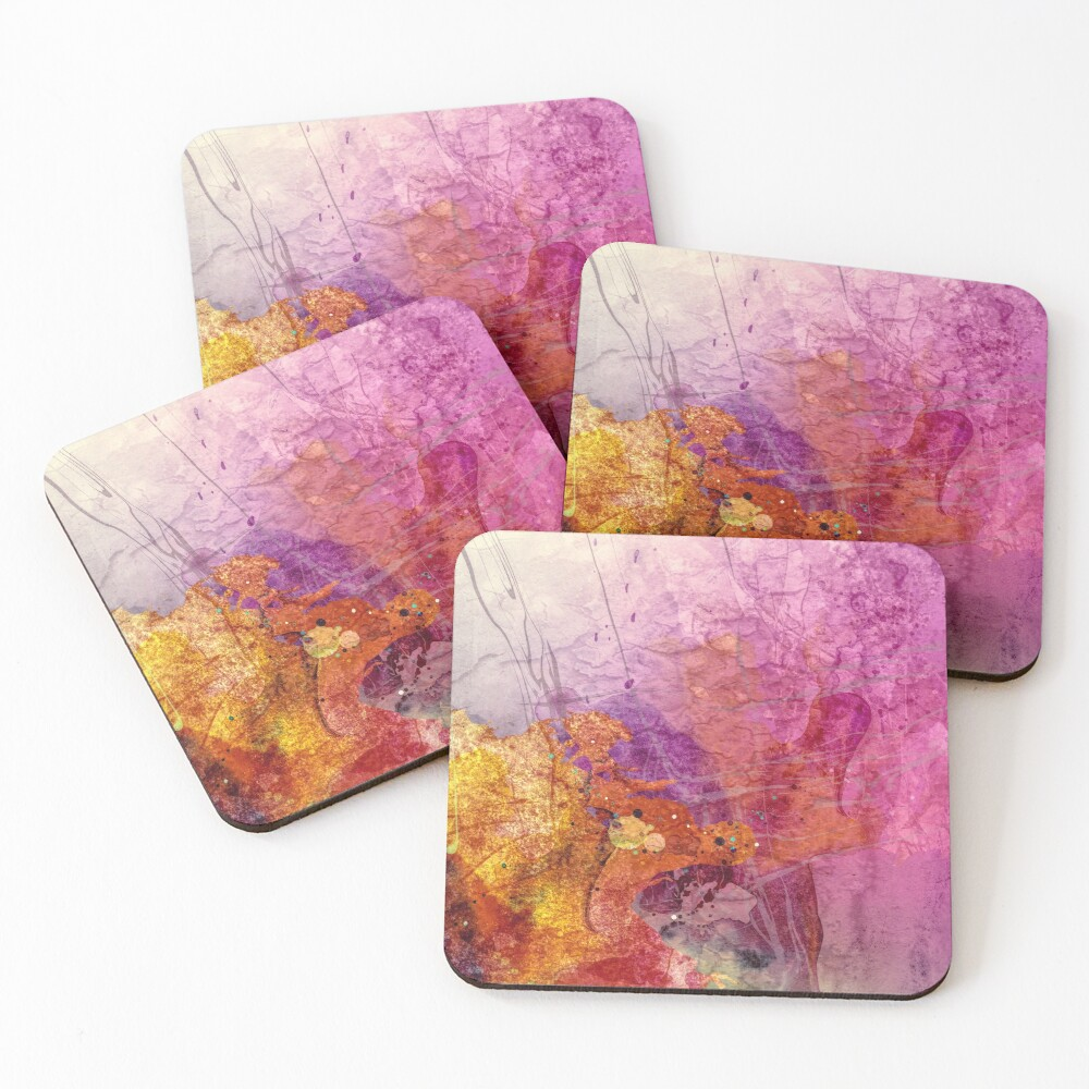 Abstract Coasters (Set of 4)