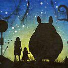 Small Spirits (Totoro) by Lux Enbom