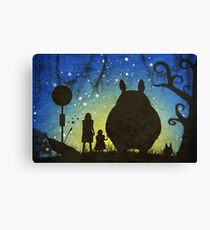 Small Spirits (Totoro) Canvas Print