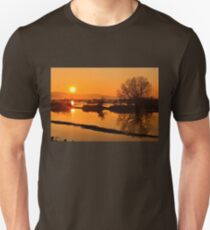Sunset @ Lake Kerkini Unisex T-Shirt