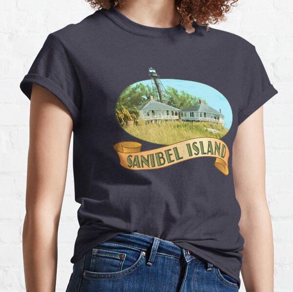 Sanibel Island Florida Lighthouse Classic T-Shirt
