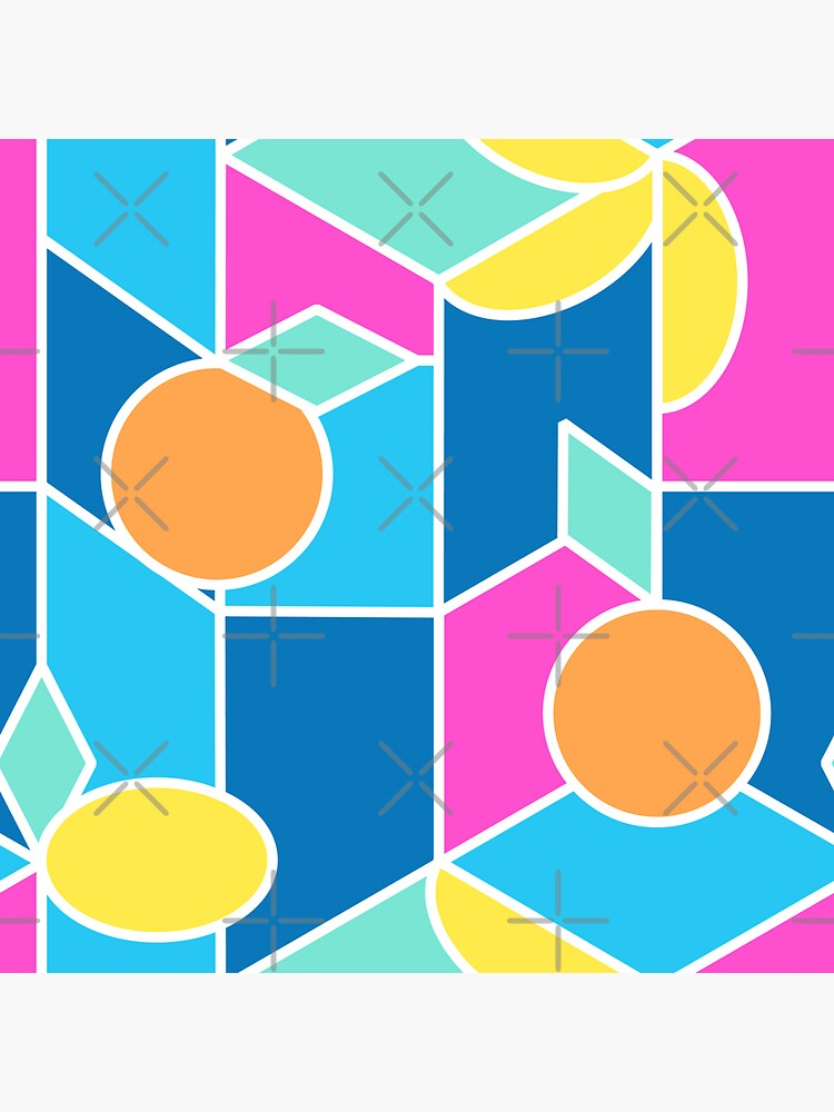 Color-Blocking Fruits by nadyanadya