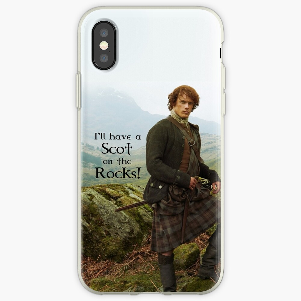 I'll have a Scot on the Rocks!  iPhone Case & Cover