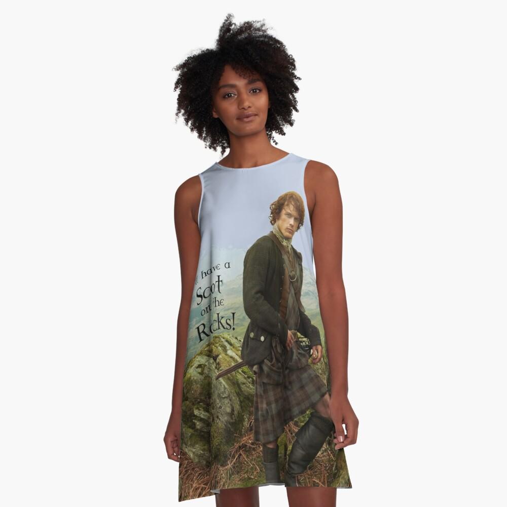 I'll have a Scot on the Rocks!  A-Line Dress