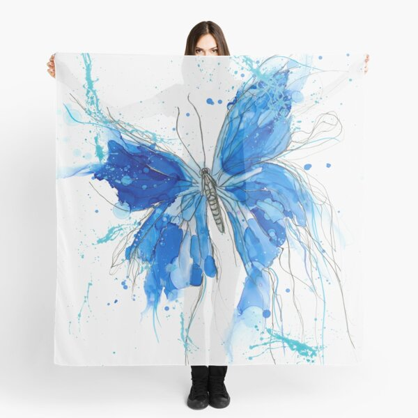 Fly free butterfly Scarf