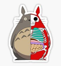 Totoro Dissected Sticker