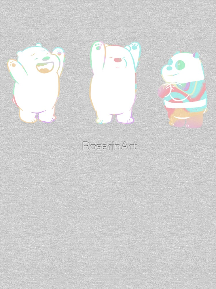 Baby We Bare Bears by RoserinArt