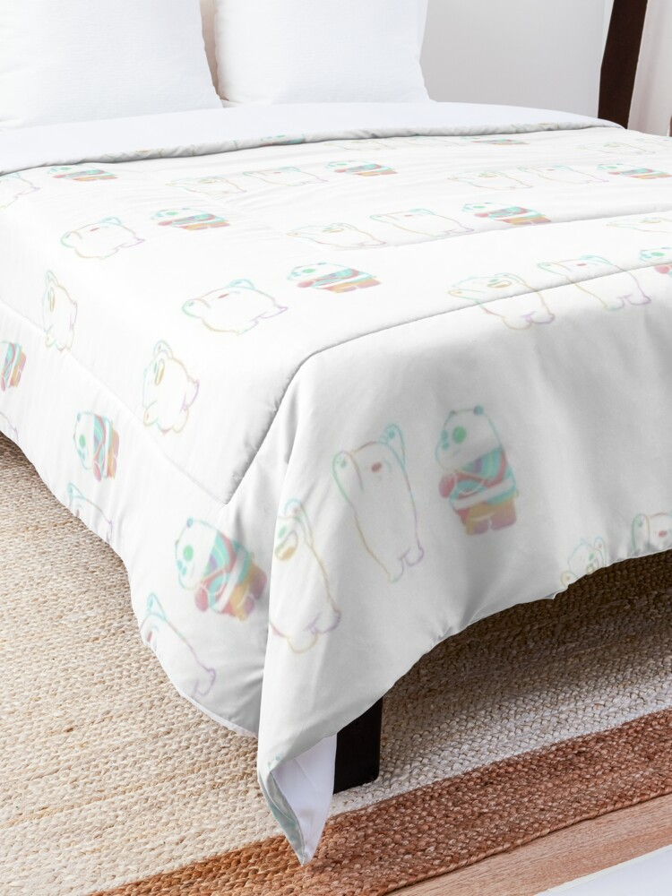 Alternate view of Baby We Bare Bears Comforter
