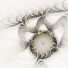 Ruffled Flower by Deborah  Benoit