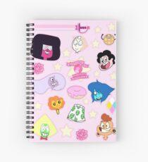GEM STICKERS! Spiral Notebook