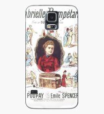 Poster 1890s Gabrielle Bompétard Case/Skin for Samsung Galaxy