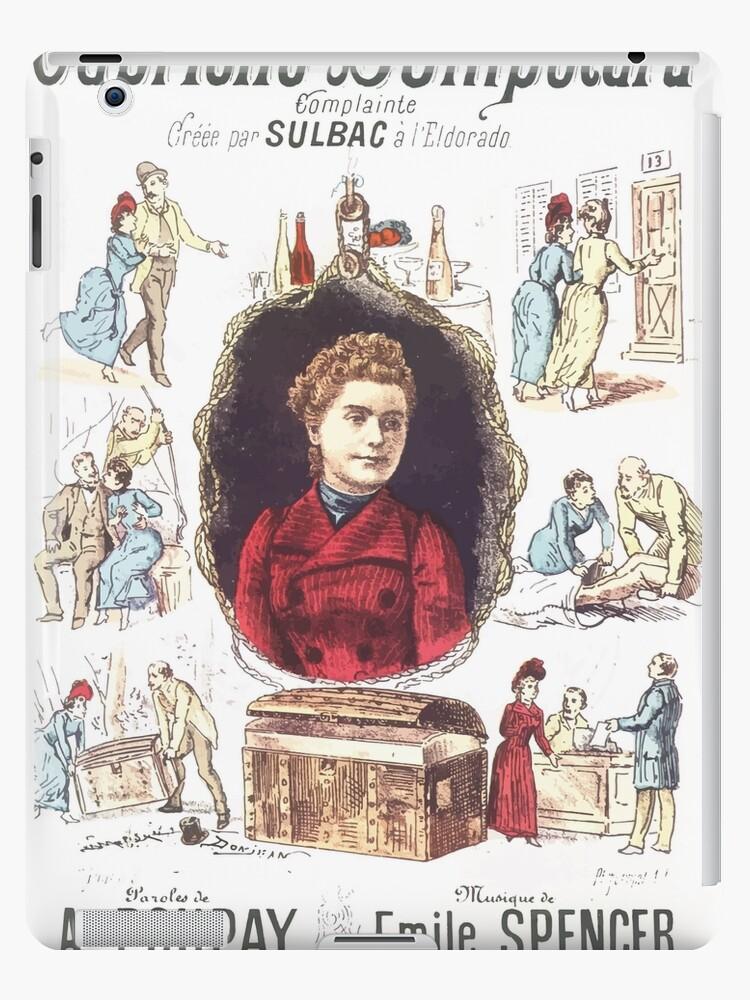 Poster 1890s Gabrielle Bompétard by wetdryvac
