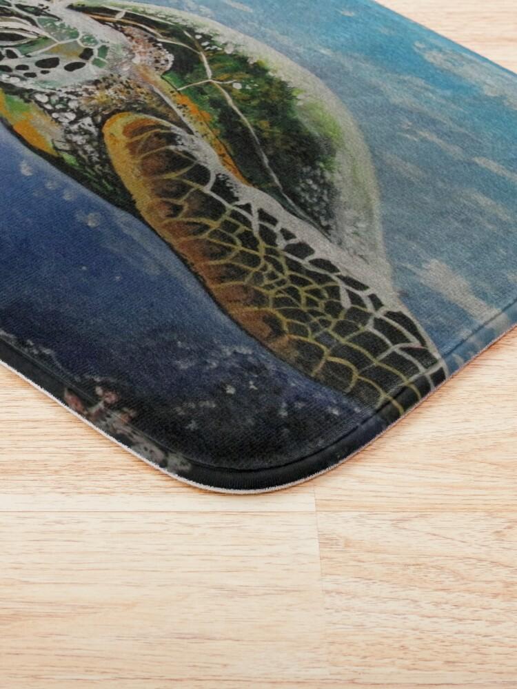 Alternate view of Sea Turtle Bath Mat