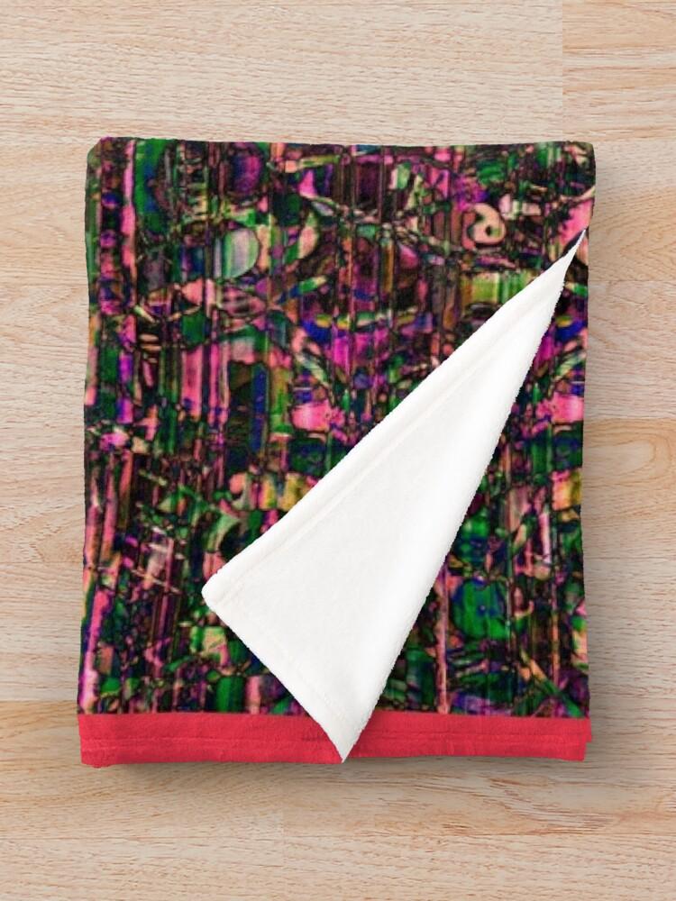 Alternate view of Urban Pattern #4 Throw Blanket