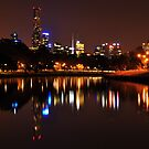 City by the Yarra by Anthony Hennessy