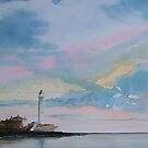 St. Marys Lighthouse...Whitley Bay by Alan Harris