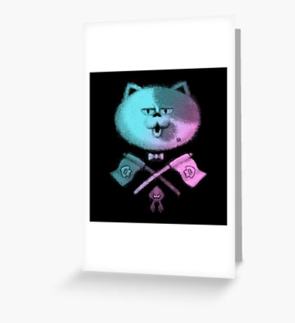 JUDD THE CAT Greeting Card