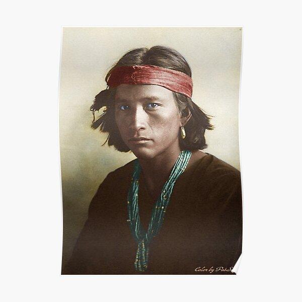 Navajo Boy 1907 Poster