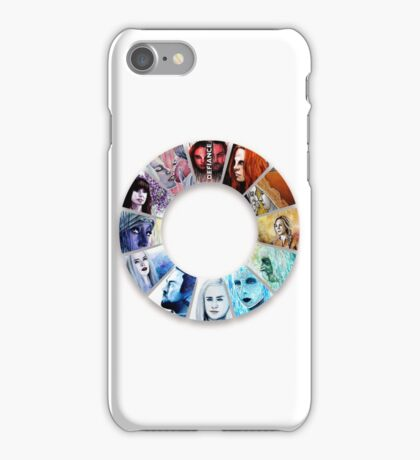 The Colour Wheel of Defiance iPhone Case/Skin