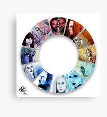 The Colour Wheel of Defiance Canvas Print