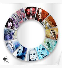 The Colour Wheel of Defiance Poster
