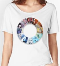 The Colour Wheel of Defiance Women's Relaxed Fit T-Shirt
