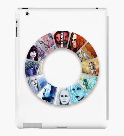 The Colour Wheel of Defiance iPad Case/Skin